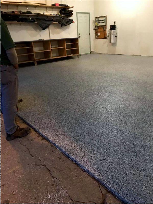 Garage Floor Epoxy Coating Calgary Big Guns Property